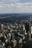 New York City. From above Royalty Free Stock Images