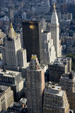 New York City. From above Royalty Free Stock Photo