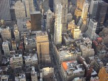 New York City. Seen from above Stock Photos