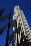 New York City. The GE Building at Rockefeller Plaza, New York stock photos