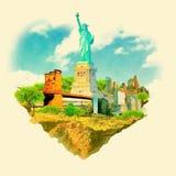 New York City vektor abbildung