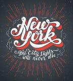 New York City ilustración del vector