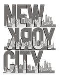 New York City Illustration de Vecteur