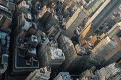 New York City acima da vertigem diminuta do lego dutchplan Imagens de Stock