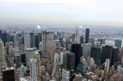 New york city aerial landscape Royalty Free Stock Photography