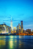 New York City aerial overview Royalty Free Stock Image