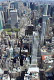 New York City Aerial panoramic view Stock Photo