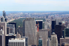 New York City Aerial panoramic view Stock Photography