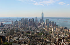 New York City Aerial panoramic view Stock Image
