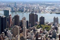 New York City Aerial panoramic view Stock Photography