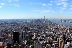New York City Aerial panoramic view Royalty Free Stock Photos