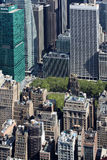 New York City Aerial panoramic view Stock Images