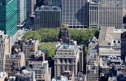 New York City Aerial panoramic view Royalty Free Stock Image