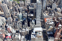 New York City Aerial panoramic view Royalty Free Stock Images