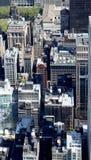 New York City Aerial panoramic view Stock Image