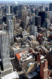 New York City Aerial panoramic view Royalty Free Stock Photo
