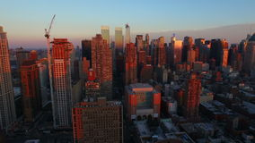 New York City Aerial stock video