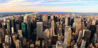 New York City aerial view Stock Photography