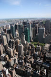 New York City Aerial View stock images
