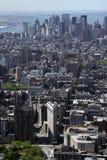 New York City Aerial View stock photos