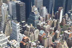New York City aerial Royalty Free Stock Image