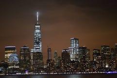 New York City alla notte Fotografie Stock