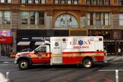 New York City ambulance car Stock Images
