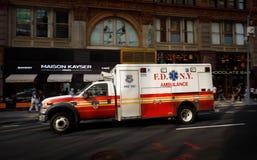 New York City ambulance car Stock Photo