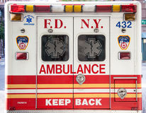 New York City ambulance Royalty Free Stock Images