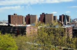New York City: Ansicht von Harlem Lizenzfreies Stockfoto