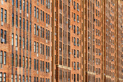New York City Apartment Building Background Stock Images