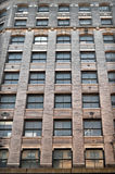 New York City Apartment Windows Royalty Free Stock Photography