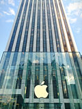 New York city. Apple company Royalty Free Stock Images