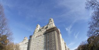 New york city architecture buildings. New York city buidings and skycrappers, residentials luxury housing Stock Images