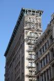 New York City arkitekturdetalj Fotografering för Bildbyråer
