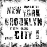 New York city art. Street graphic style NYC. Fashion stylish print. Template apparel, card, label, poster. emblem, t-shirt stamp g. Raphics. Handwritten banner Stock Photo