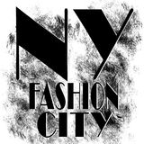 New York city art. Street graphic style NYC. Fashion stylish print. Template apparel, card, label, poster. emblem, t-shirt stamp Stock Photo