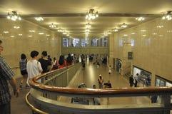 New York City, am 3. August: Grand Central -Stationsinnenansicht von Manhattan in New York stockfotografie