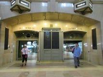 New York City, am 3. August: Grand Central -Stationsinnenansicht von Manhattan in New York stockbild