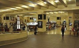 New York City, am 3. August: Grand Central -Stationsinnenraum von Manhattan in New York lizenzfreie stockfotografie