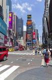 Broadway. Manhattan, New York. Stock Photos
