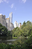 New York City,august 2nd:Central Park from Manhattan in New York Royalty Free Stock Photography