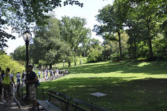 New York City,august 2nd:Central Park from Manhattan in New York Stock Photo