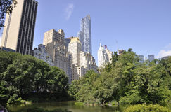 New York City,august 2nd:Central Park from Manhattan in New York Royalty Free Stock Photo