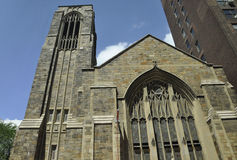 New York City,august 2nd:Church of the Village from Manhattan in New York. Church of the Village from Manhattan in New York on august 2nd 2016 royalty free stock photos