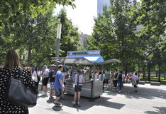 New York City,August 2nd:Ground Zero Memorial Park in Manhattan from New York City stock photos