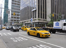 New York City,August 2nd:Taxi Car from Manhattan in New York City Stock Photo