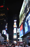 New York City,August 3nd:Times Square by night in Manhattan in New York City Royalty Free Stock Photo