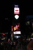 New York City,August 2nd:Times Square by night in Manhattan in New York City Royalty Free Stock Photo