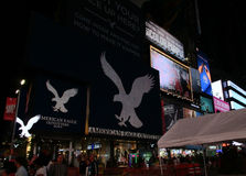 New York City,August 3nd:Times Square by night in Manhattan in New York City Stock Photo